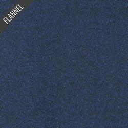 Shetland Melange Flannel in Navy