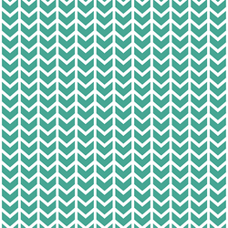Broken Chevron in Jade
