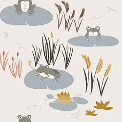 Here Little Froggy in Water