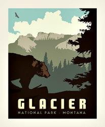 Poster Panel in Glacier