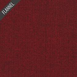 Shetland Herringbone Flannel in Cranberry