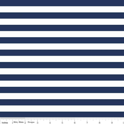 Small Stripe Knit in Navy