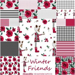 Winter Friends Fat Quarter Bundle