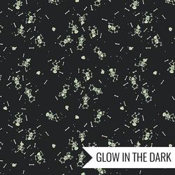 Skeletons in Charcoal Glow in the Dark