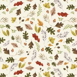 Big Leaves in Ivory