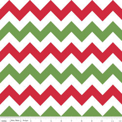 Medium Chevron in Christmas