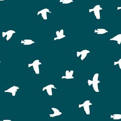 Flock Silhouette in Juniper