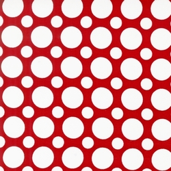 Large Spots in Red