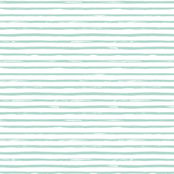 Small Watercolor Stripes in Spruce