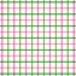 Spring Plaid in Carnation