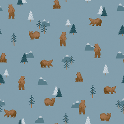 Grizzly Bears in Denim