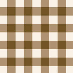 Gingham in Cocoa