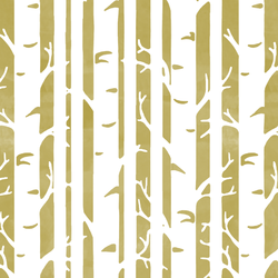 Birches in Brass