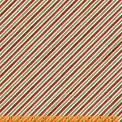 Winter Diagonal Stripe in Multi
