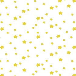 Star Light in Sunshine on White