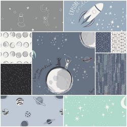 Capsules Stargazer Fat Quarter Bundle