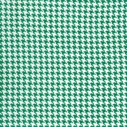 Tiny Houndstooth in Spearmint