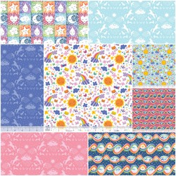 Happy Skies Fat Quarter Bundle