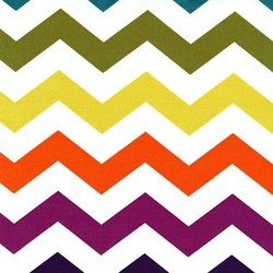 Chic Chevron in Jewel