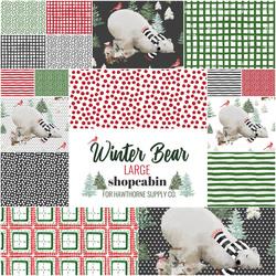 Winter Bear Fat Quarter Bundle in Comfy