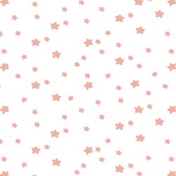 Star Light in Peony on White