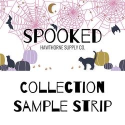 Spooked Sample Strip