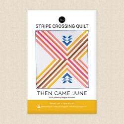 Stripe Crossing Quilt