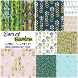 Secret Garden Fat Quarter Bundle