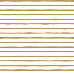 Artisan Stripe in Marigold on White