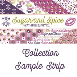 Sugar and Spice Sample Strip