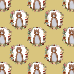 Small Woodland Bear in Honey