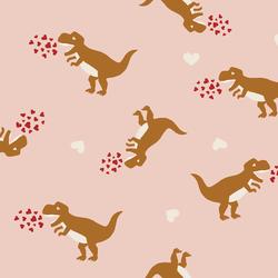 Dinosaurs in Ballet Pink