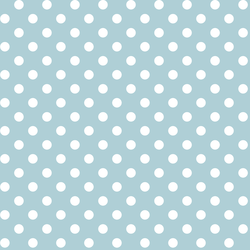 Candy Dot in Powder Blue