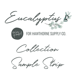Eucalyptus Sample Strip