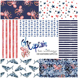 Oh Captain Fat Quarter Bundle