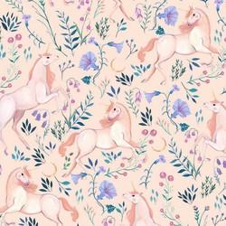 Unicorn Meadow in Blush