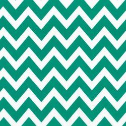 Large Zig Zag Stripe in Emerald