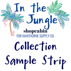 In the Jungle Sample Strip