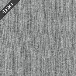 Shetland Herringbone Flannel in Grey