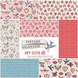 Vintage Valentine Fat Quarter Bundle