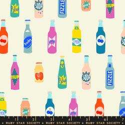 Pop Bottles in Cream Soda