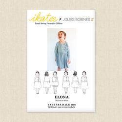 Elona Blouse or Dress - Girls