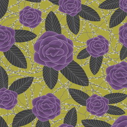 Bed of Roses in Zest