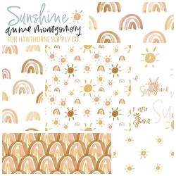 Sunshine Fat Quarter Bundle in Sunbeam