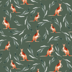 Kangaroos in Leaf