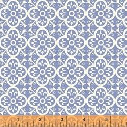 Vintage Tile in Periwinkle