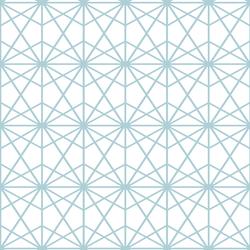 Terrarium in Powder Blue on White