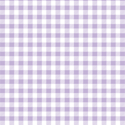 Small Buffalo Plaid in Lilac