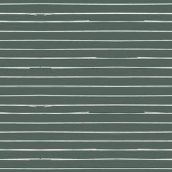 Lines in Dark Duck Green