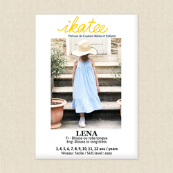 Lena Dress and Blouse - Girls